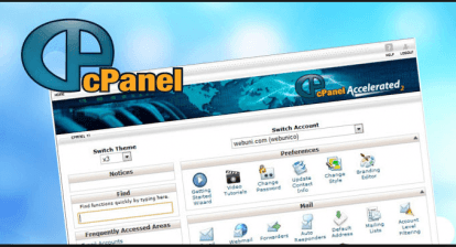 cPanel web hosting control panel