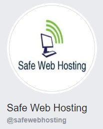 Find Safe Web Hosting on Facebook